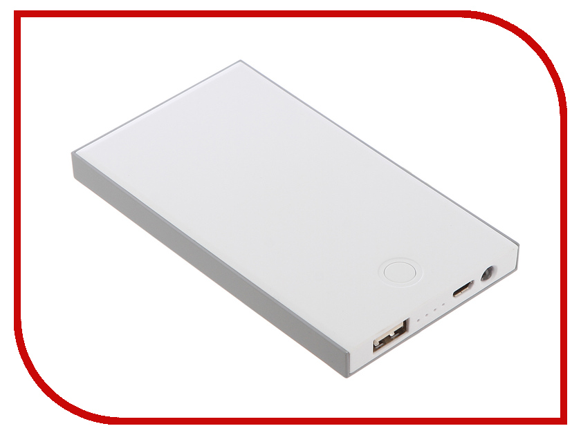 Аккумулятор Devia Slimbox Power Bank 5000 mAh Gray<br>