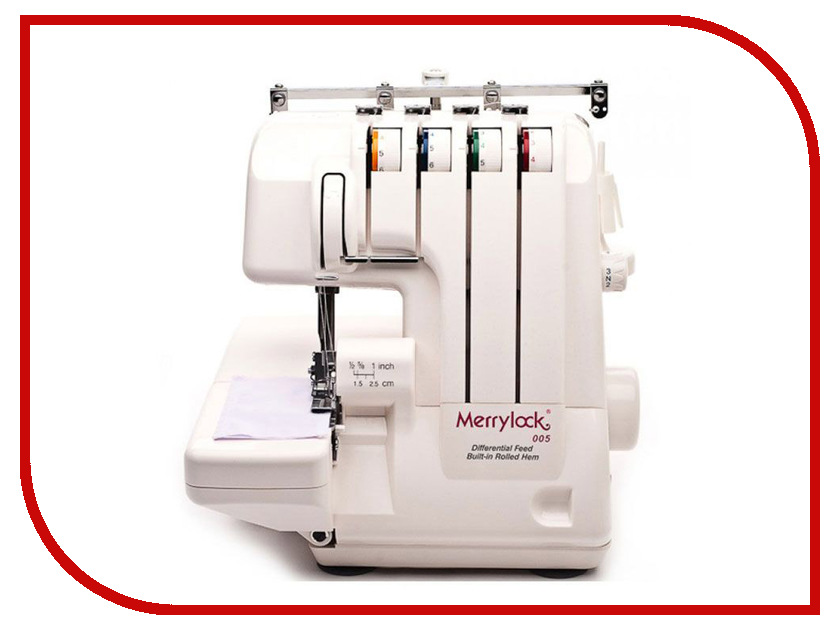 Оверлок Merrylock 005 / 848DS merrylock 085a