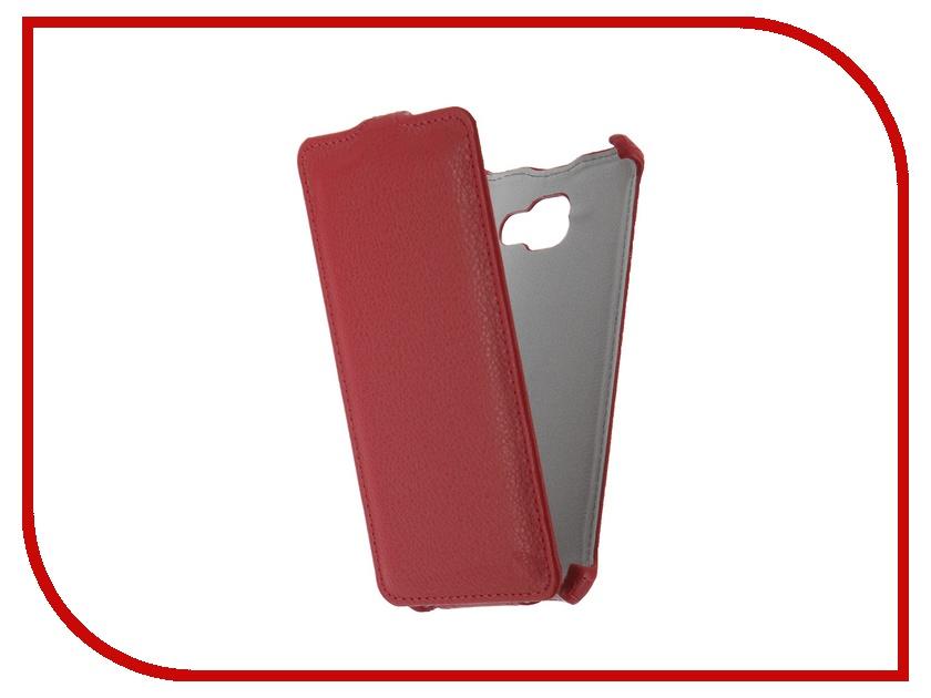 Аксессуар Чехол Samsung Galaxy A7 A710 2016 Zibelino Classico Red<br>