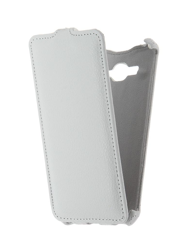 Аксессуар Чехол Samsung SM-G530H Galaxy Grand Prime Zibelino Classico White<br>