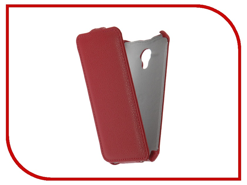 Аксессуар Чехол Meizu M2 mini Zibelino Classico Red<br>