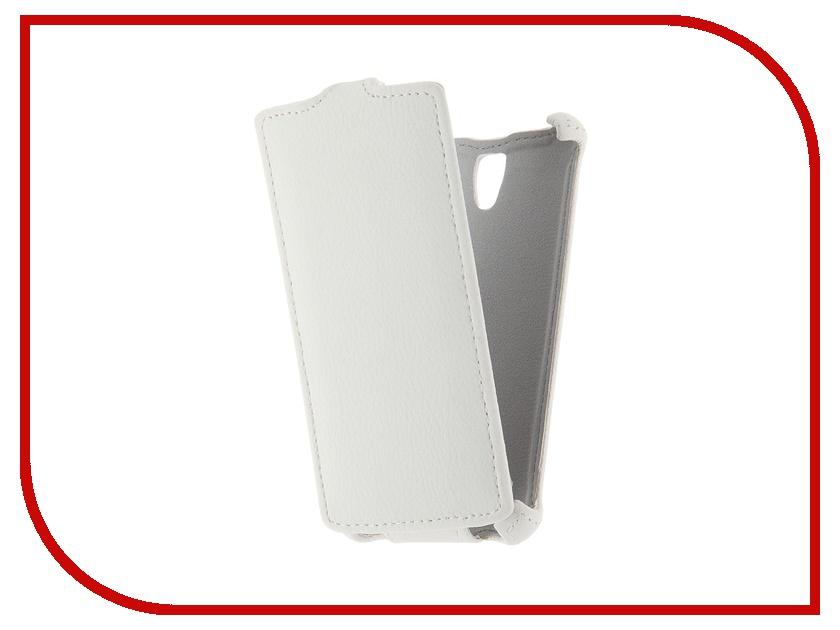 Аксессуар Чехол Lenovo A2010 Zibelino Classico White<br>