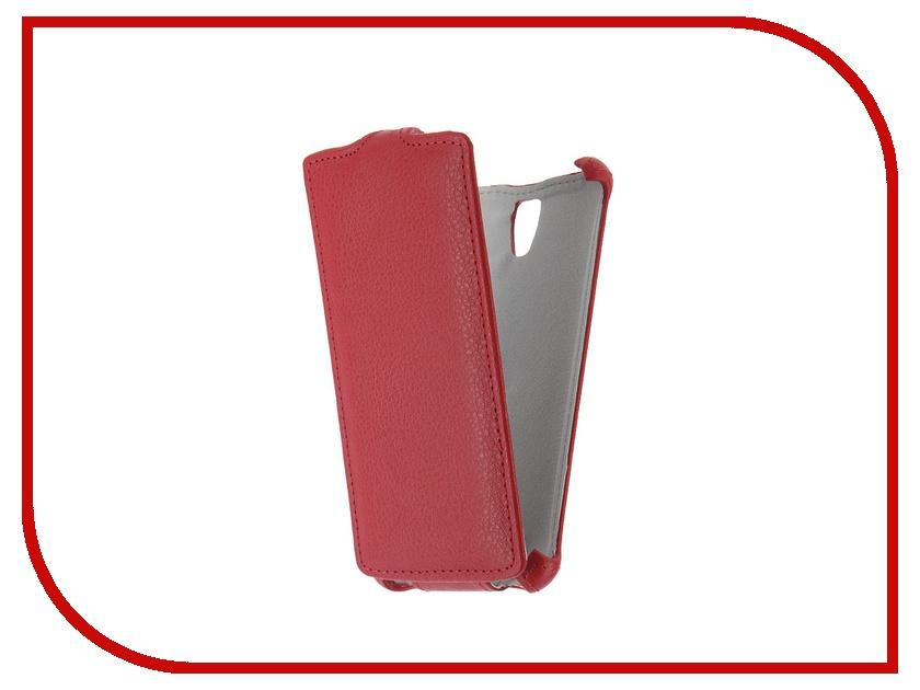 Аксессуар Чехол Lenovo A2010 Zibelino Classico Red<br>