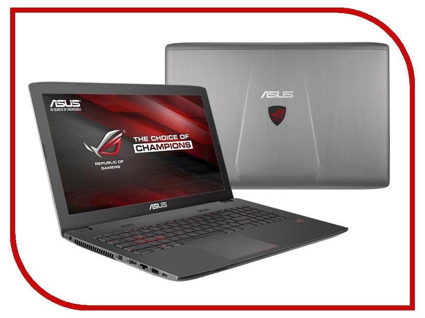 Ноутбук ASUS GL752VW-T4237D 90NB0A42-M03150 (Intel Core i5-6300HQ 2.3 GHz/8192Mb/2000Gb/DVD-RW/nVidia GeForce GTX 960M 2048Mb/Wi-Fi/Cam/17.3/1920x1080/DOS)<br>