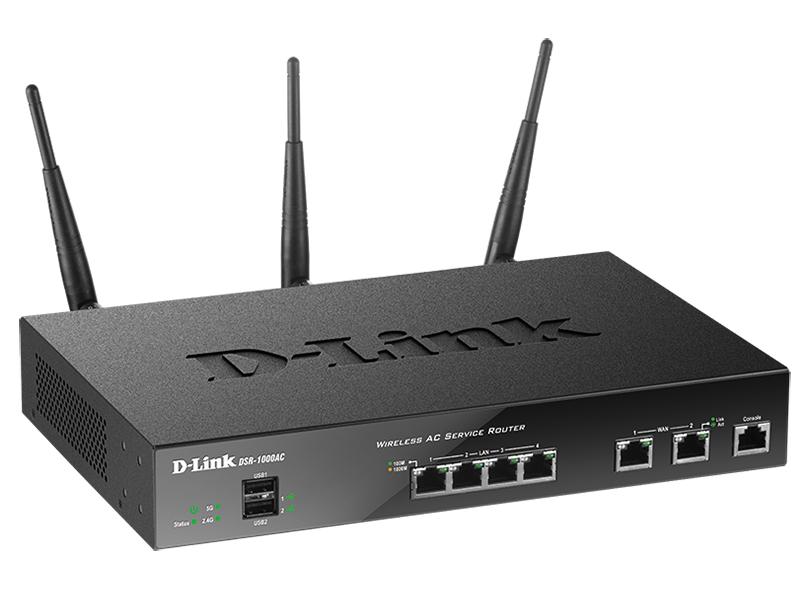 Wi-Fi роутер D-Link DSR-1000AC