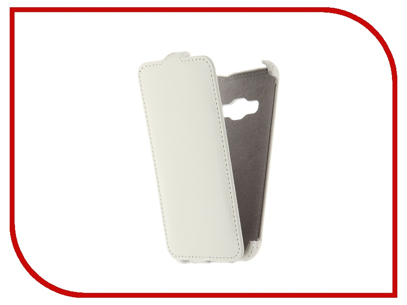 Аксессуар Чехол Samsung Galaxy J1 2016 Armor White<br>