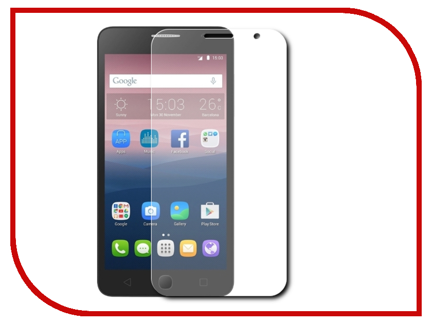 ��������� �������� ������ Alcatel OneTouch 5070D Pop Star LuxCase 51366