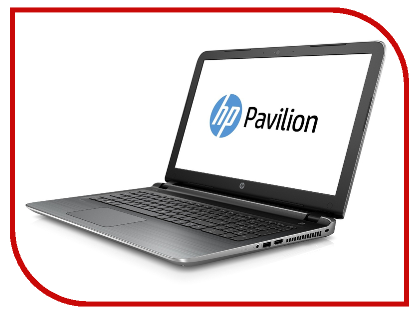 Ноутбук HP Pavilion 15-AB234UR Silver V0Z44EA Intel Pentium N3700 1.6 GHz/4096Mb/500Gb/DVD-RW/Intel HD Graphics/Wi-Fi/Bluetooth/Cam/15.6/1366x768/Windows 10 64-bit