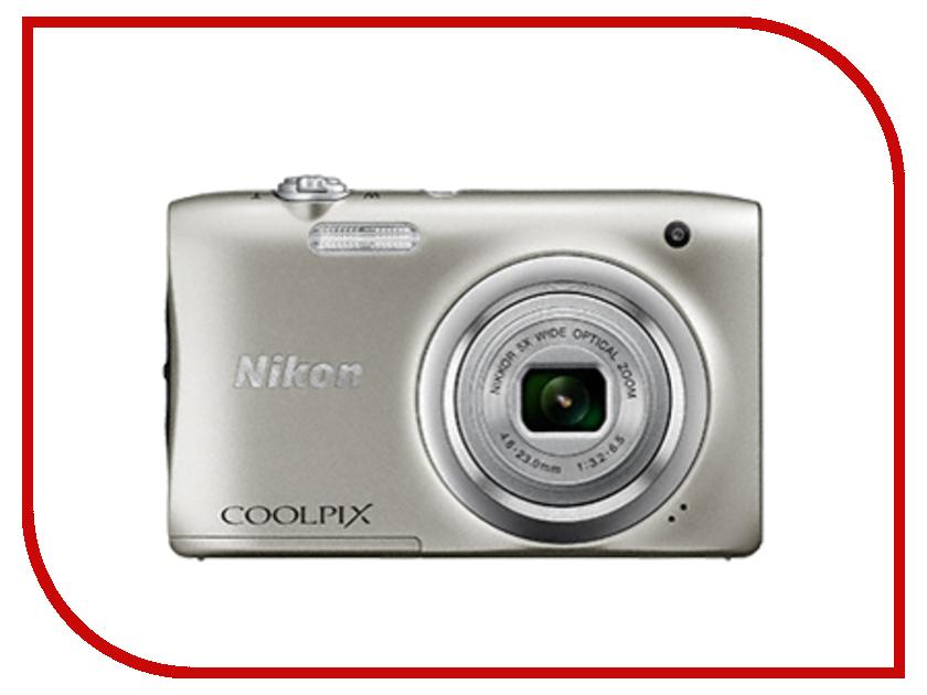 Фотоаппарат Nikon Coolpix A100 Silver фотоаппарат nikon d7100 body