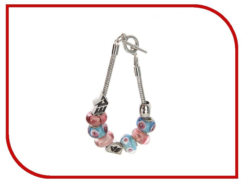 Браслет Energy-Armor Womens Charm Bracelet Blue-Pink S
