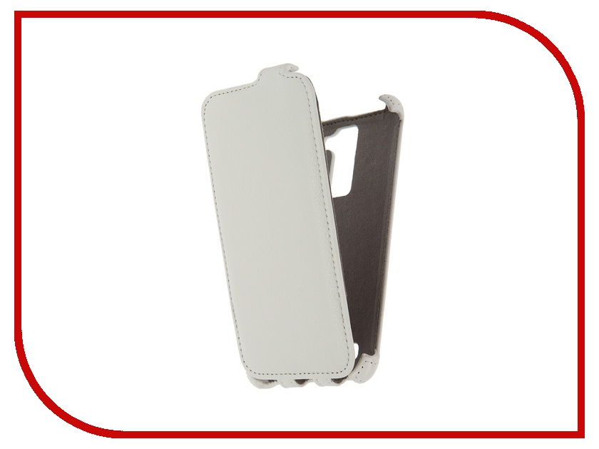 Аксессуар Чехол LG K7 X210 Activ Flip Case Leather White 57479