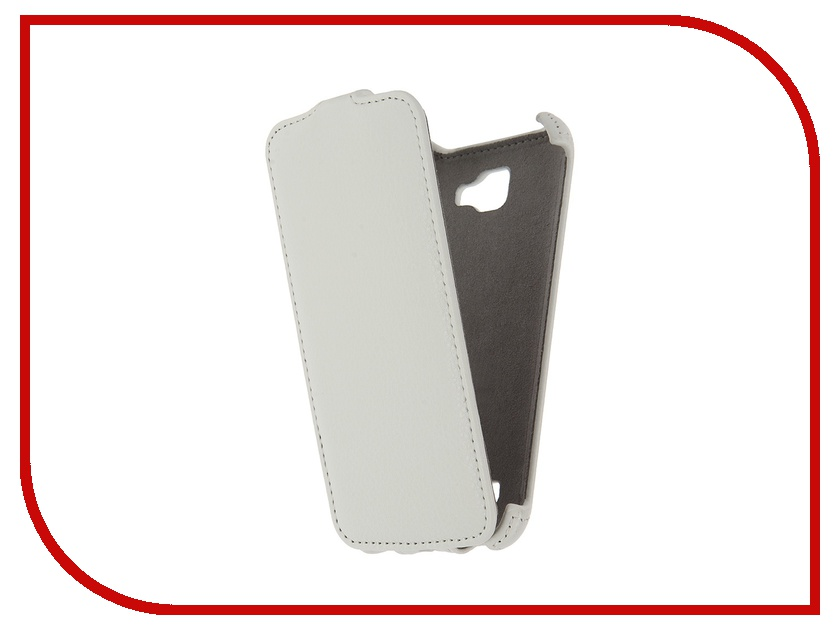Аксессуар Чехол LG K4 K130 Activ Flip Case Leather White 57477 highscreen flip case чехол для power five white