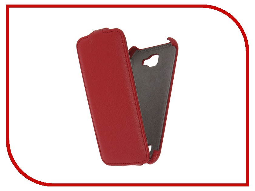 Аксессуар Чехол LG K4 K130 Activ Flip Case Leather Red 57476<br>