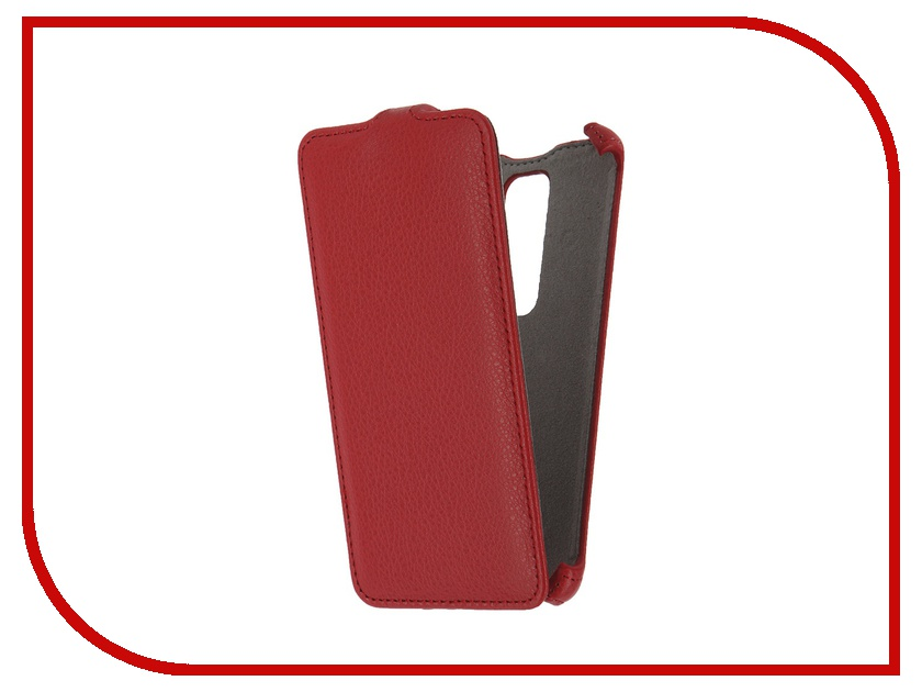 Аксессуар Чехол LG Class H650 Activ Flip Case Leather Red 57470