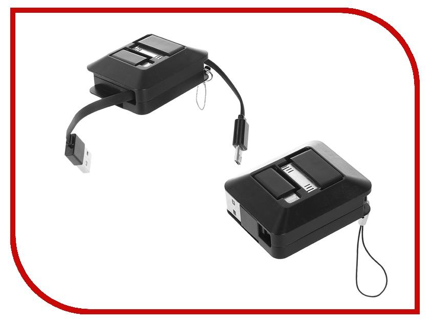 Аксессуар Melkin TCU SL-01 USB - Lightning/30-pin/MicroUSB Black 58459