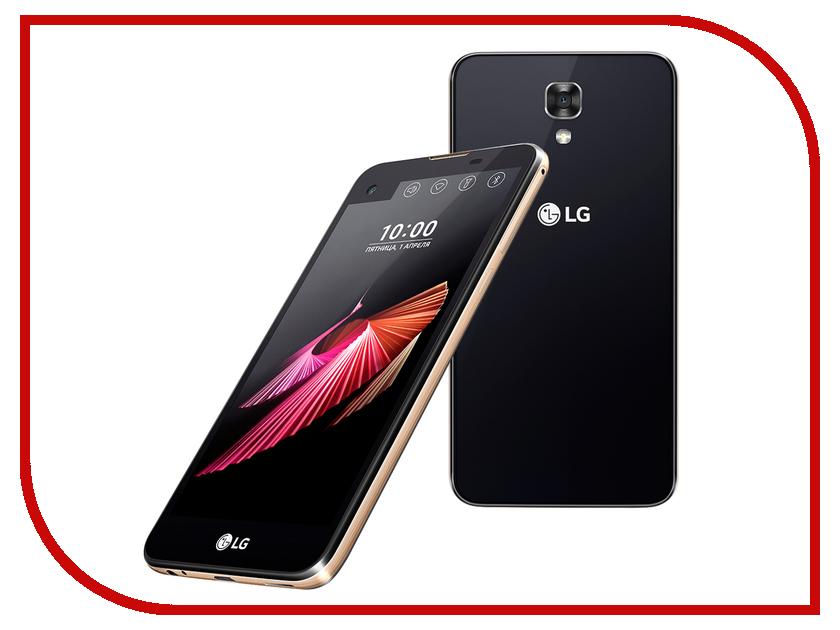 Сотовый телефон LG K500DS X View Black