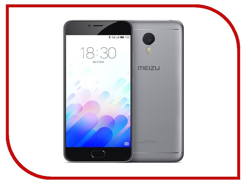 Сотовый телефон Meizu M3 Note 16Gb Grey-Black