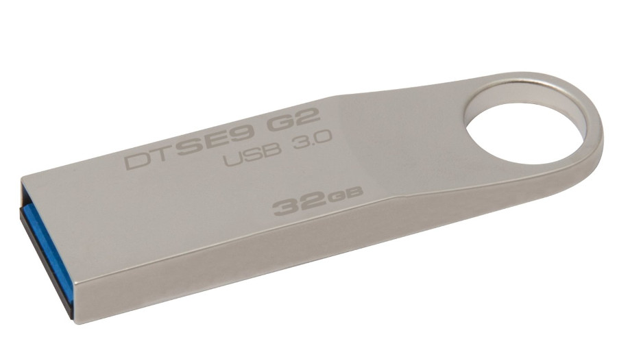 USB Flash Drive 32Gb - Kingston DataTraveler SE9 G2 USB 3.0 Metal DTSE9G2/32GB