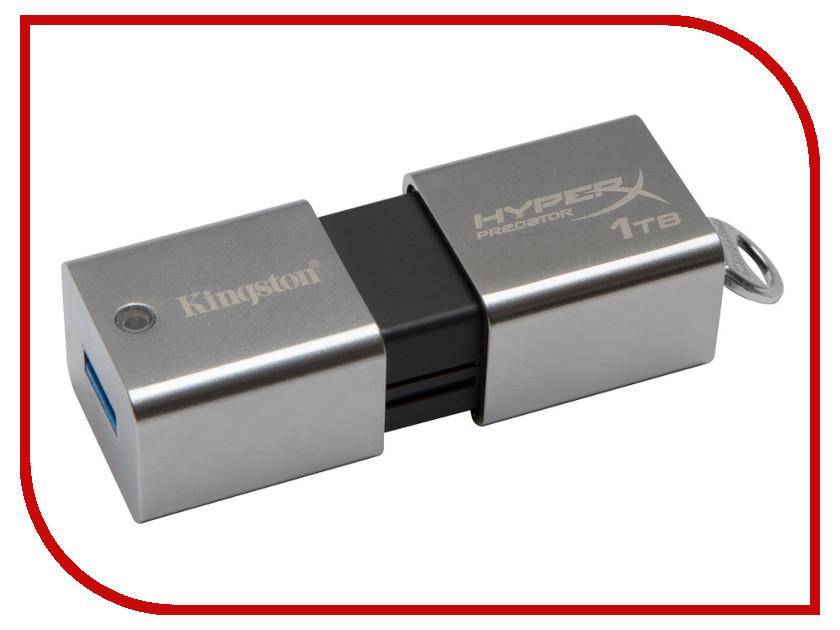 USB Flash Drive 1000Gb - Kingston FlashDrive Data Traveler HyperX Predator DTHXP30/1TB<br>