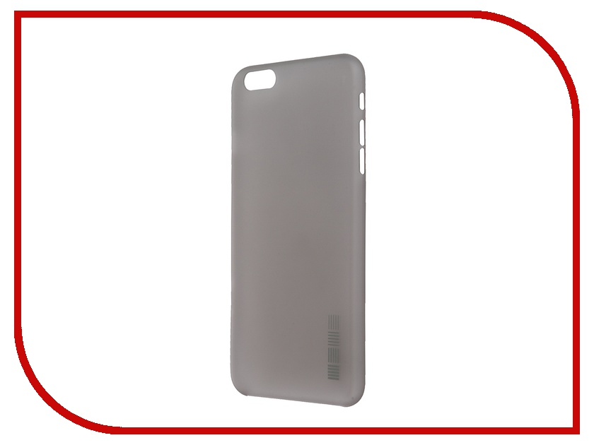 Аксессуар Чехол InterStep для iPhone 6 Plus / 6S Plus 38275 Silver<br>