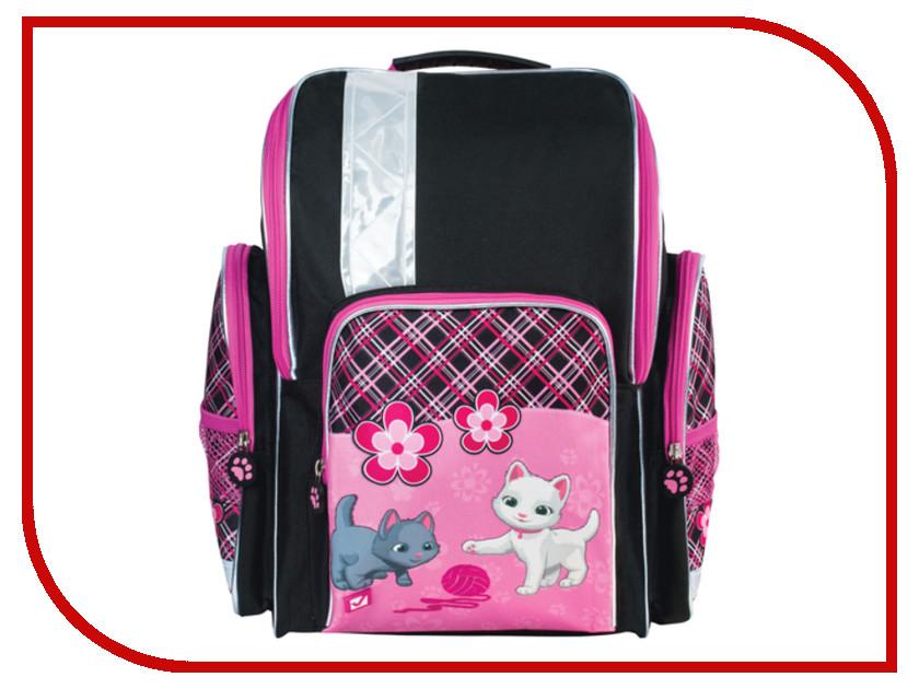 Рюкзак BRAUBERG Pink-Black 225319