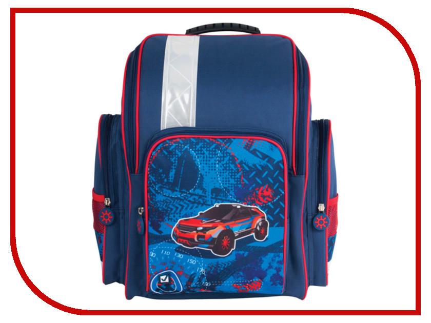 Рюкзак BRAUBERG Blue-Lite Blue 225332