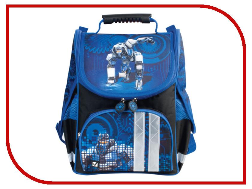 Рюкзак BRAUBERG Black-Blue 225338<br>