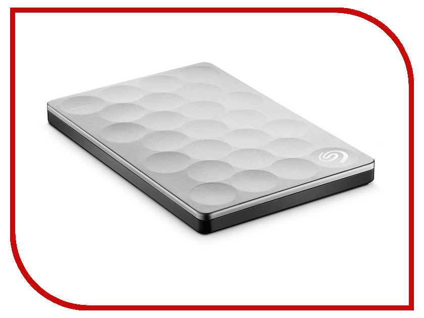 Жесткий диск Seagate Backup Plus Ultra Slim 1Tb Platinum STEH1000200<br>