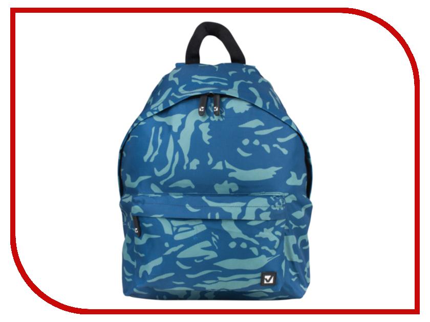 Рюкзак BRAUBERG B-HB1618 Camo Blue 225368<br>