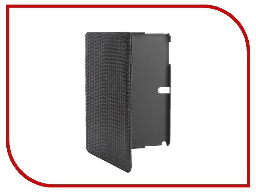 Аксессуар Чехол Samsung Galaxy Note 10.1 InterStep Leather Grey 30449<br>