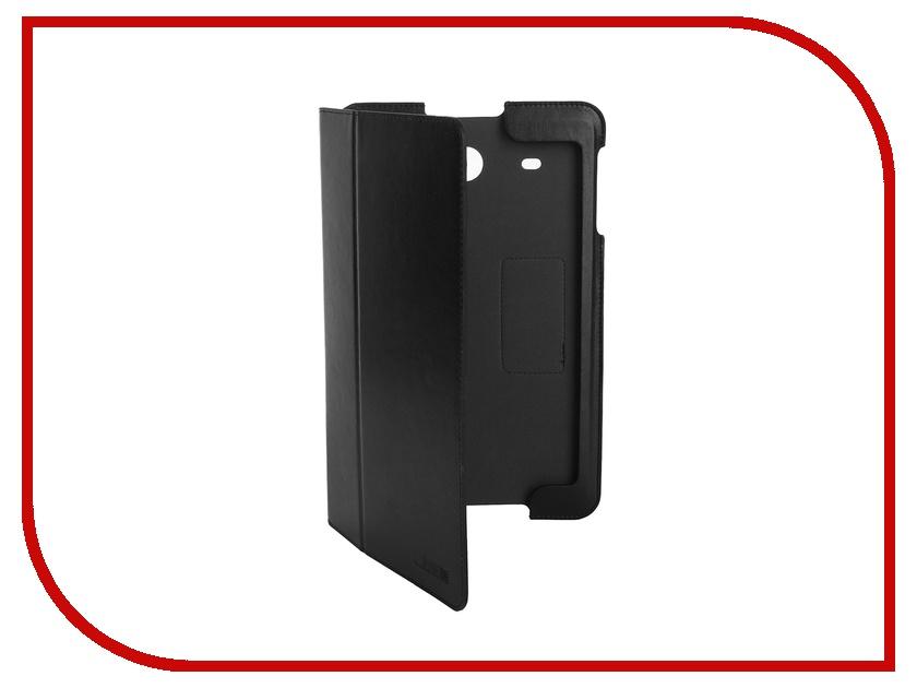Аксессуар Чехол Samsung Galaxy Tab E 9.6 InterStep Leather Black 41203 HST-SAGTE10P-NK1301O-K100<br>