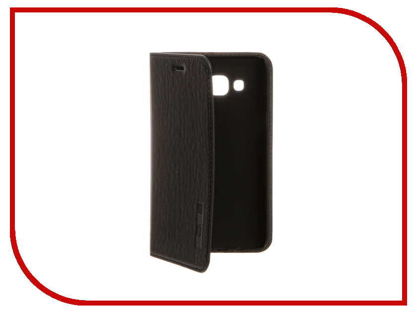 Аксессуар Чехол Samsung Galaxy J5 InterStep Leather Black 42721<br>