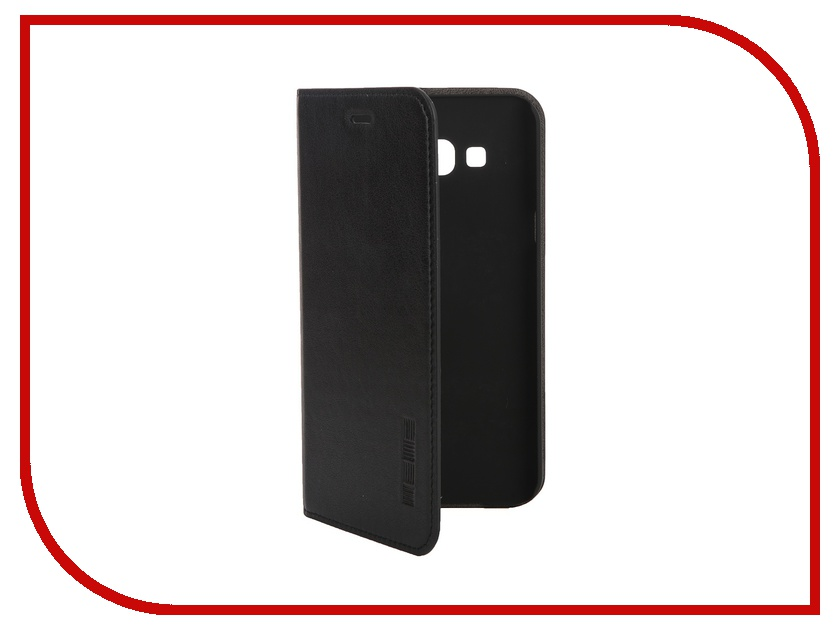 Аксессуар Чехол Samsung Galaxy A8 InterStep Leather Black 41600<br>