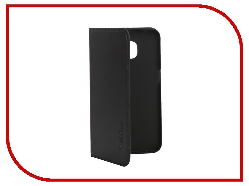 Аксессуар Чехол Samsung G925F Galaxy S6 Edge InterStep Leather Black 39881 HVB-SAGAS6EK-NP1101O-K100<br>