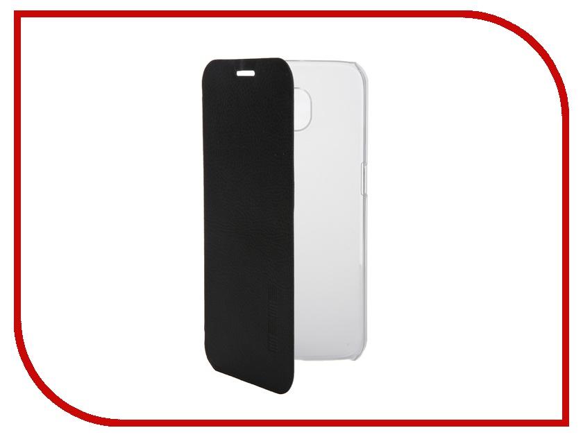 Аксессуар Чехол Samsung G920F Galaxy S6 InterStep Leather Black 39889 аксессуар чехол samsung galaxy tab s 2 8 0 interstep leather black 41606