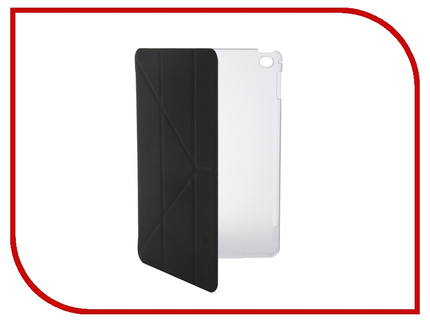 Аксессуар Чехол InterStep Leather для APPLE iPad mini 4 Black HSM-APIPAM4P-NK1301O-K100 42372