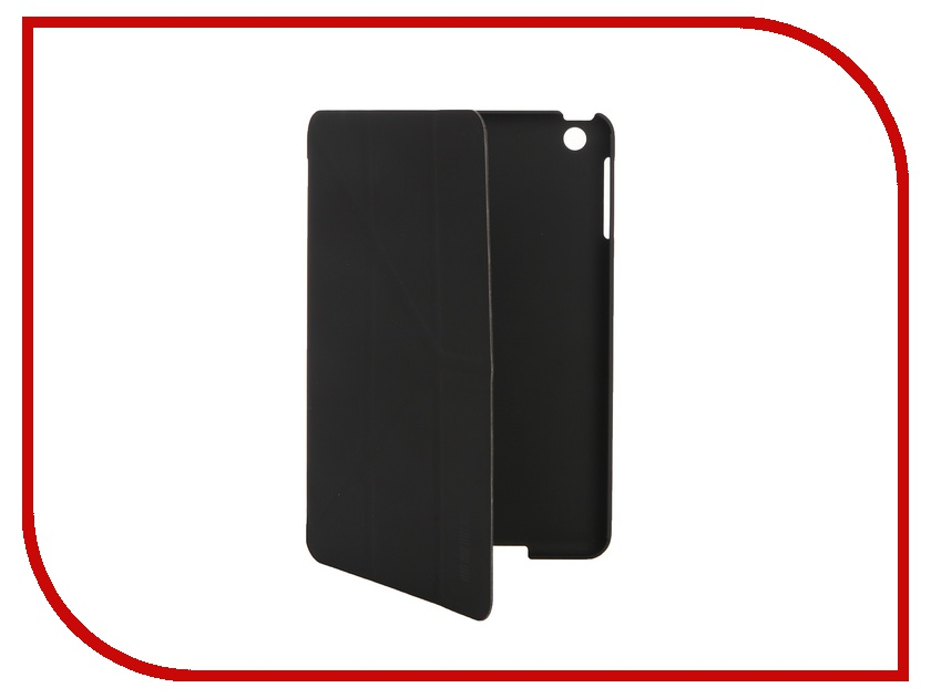 Аксессуар Чехол InterStep Leather для APPLE iPad mini 3 Black 38056 HSM-APIPAM3P-NK1301O-K100<br>