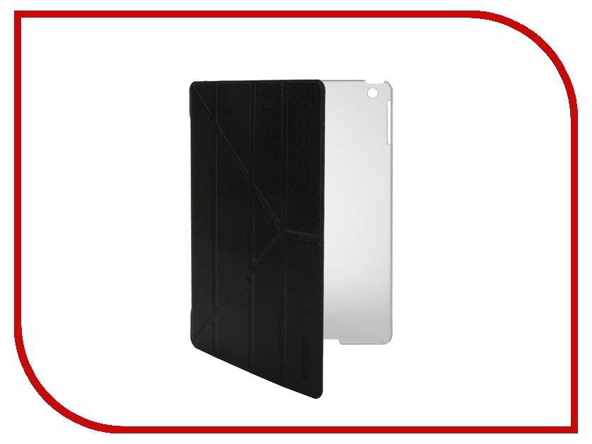 Аксессуар Чехол InterStep Leather для APPLE iPad Air Black 33394