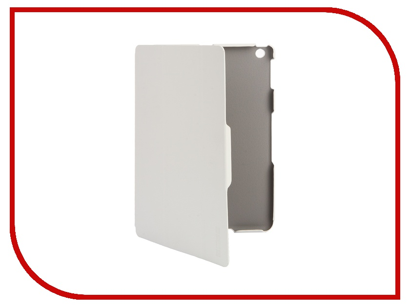 Аксессуар Чехол InterStep Leather для APPLE iPad Air White 33459