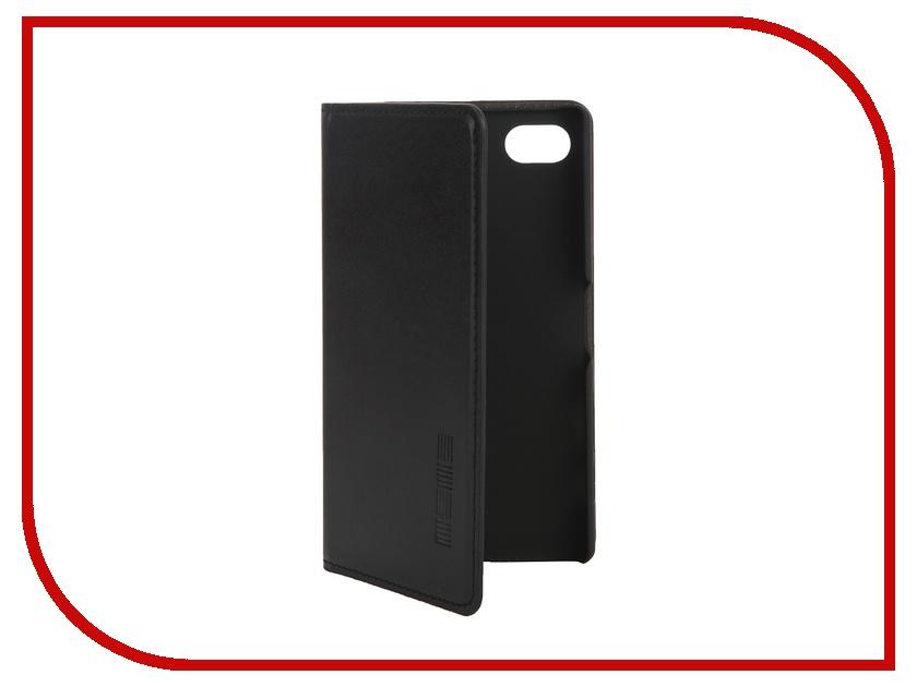 Аксессуар Чехол Sony Xperia Z5 Compact InterStep IS Vibe Black HVB-SOXPEZ5K-NP1101O-K100 42593<br>