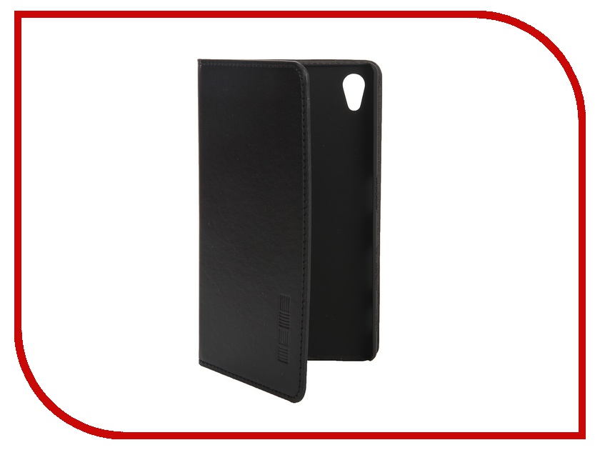 Аксессуар Чехол Sony Xperia Z5 Premium InterStep Leather Black 42870<br>