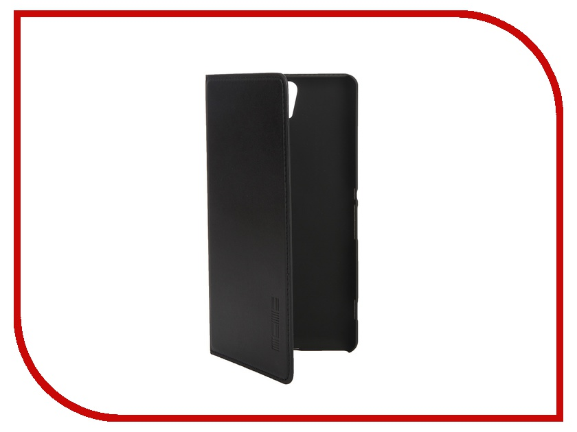 Аксессуар Чехол Sony Xperia C5 Ultra InterStep Leather Black 42627