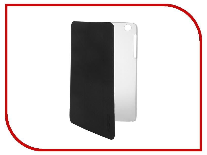 Аксессуар Чехол Lenovo A5500 InterStep Leather Black 37446<br>
