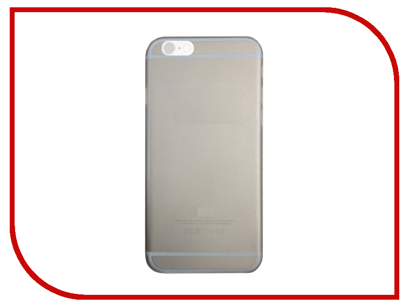 ��������� ����� APPLE iPhone 6/6S InterStep Silver 38273<br>