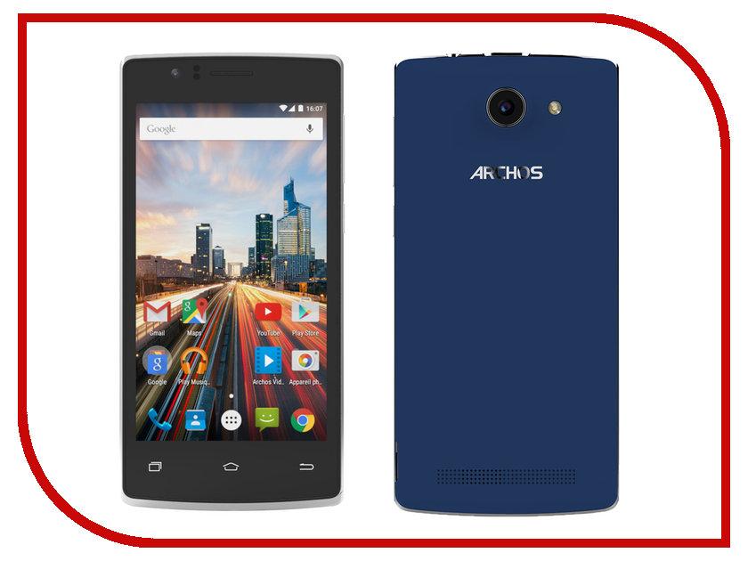 Сотовый телефон Archos 45c Helium Black-Blue archos 45c helium