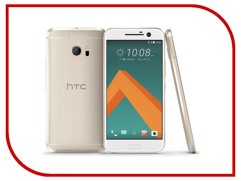 Сотовый телефон HTC 10 Lifestyle Gold смартфон htc 10 lifestyle gold