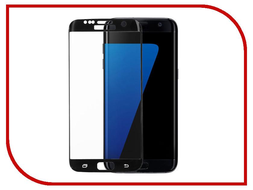 где купить Аксессуар Закаленное стекло для Samsung Galaxy S7 DF sColor-05 Black дешево