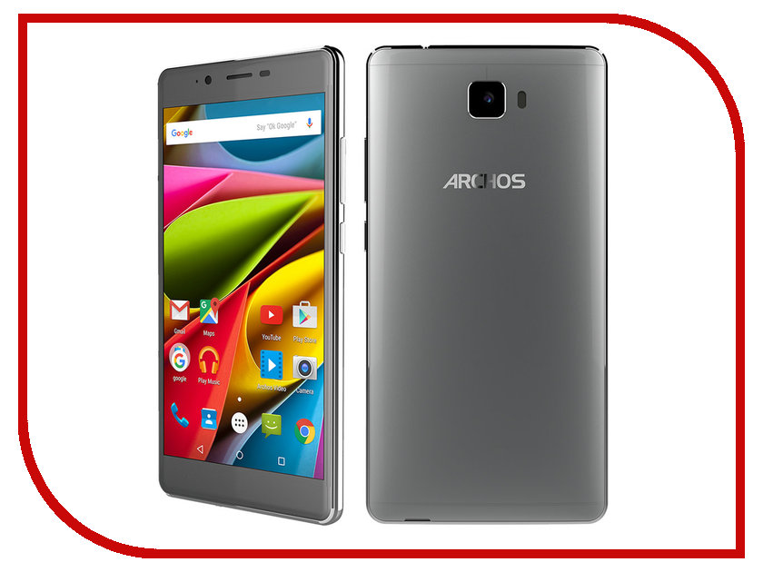 Сотовый телефон Archos 55 Cobalt Plus Dark Grey недорого