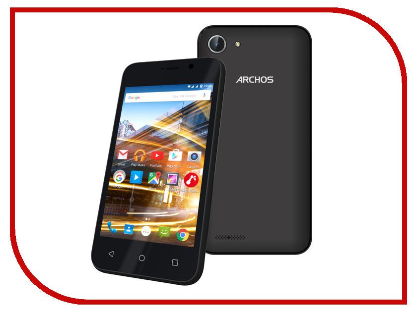 Сотовый телефон Archos 40 Neon Black сотовый телефон archos 55 cobalt plus dark grey