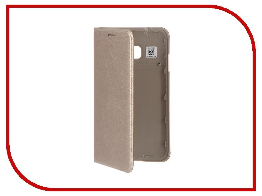 Аксессуар Чехол Samsung SM-J105 Galaxy J1 mini Flip Cover Gold EF-FJ105PFEGRU<br>